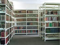 قفسه اداری قفسه کتابخانه قفسه فلزی قفسه بندی کتاب قفسه فلزی کتاب قفسه ریلی خرید قیمت طراحی نصب